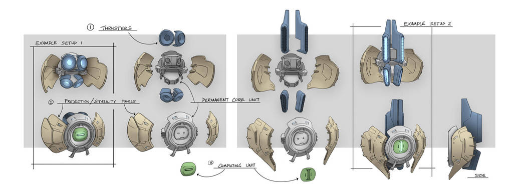 Eden Star Prop Bot Concept by gavinli
