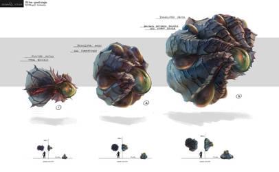 Eden Star Creature Prop Concept by gavinli