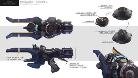 Unreal Tournament - Translocator Concept by gavinli