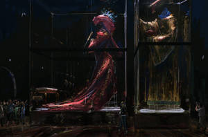 Museum-locked Chinese empress and emperor by gavinli
