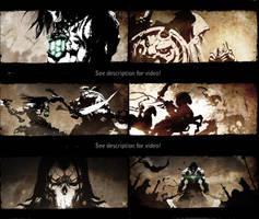 Darksiders II 2D Cinematic Art Sampling by poojipoo