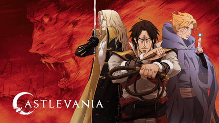 Castlevania Release Illustration by poojipoo
