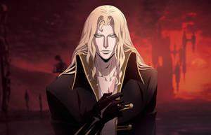 Castlevania Art: Alucard by poojipoo