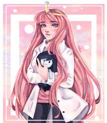 Mspaint - Princess Bubblegum by ASttefany