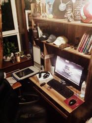 my office by Uighurexplorer