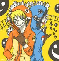 Naruto and Sasuke: Matryoshka by Winterleigh