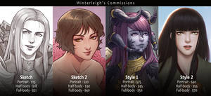 Winterleigh's Art Commissions [CLOSED] by Winterleigh