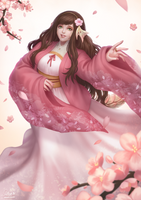 C: Cherry Blossoms by Winterleigh