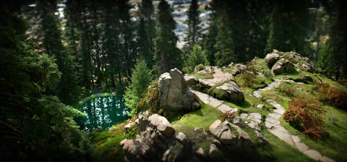 Hidden Pool by Foxfires