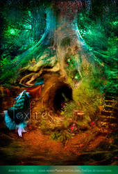 Down The Rabbit-Hole by Foxfires