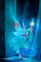 Pinocchio's Blue Faerie by Foxfires