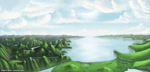Panorama Matte Painting by Syntetyc
