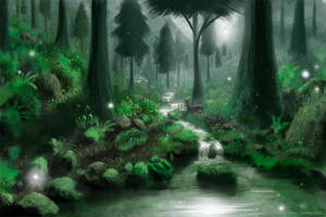 Green Forest by Syntetyc