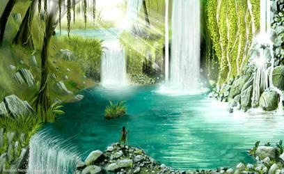 Secret paradise by Syntetyc