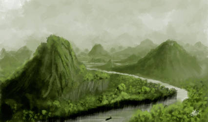 Jungle speed paint by Syntetyc