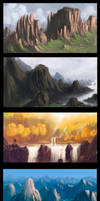 Speedpaints compilation 1 by Syntetyc