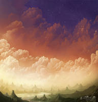 Kingdom of the clouds by Syntetyc