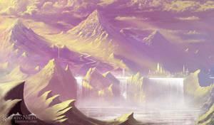 Waterfall Kingdom by Syntetyc