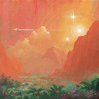 Alien planet by Syntetyc