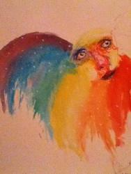 Rainbow Burst by nerdysquirrels