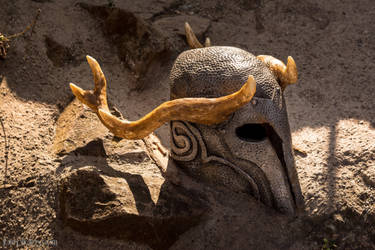 Skyrim : Ancient Nord Helmet by BlackOwlStudio