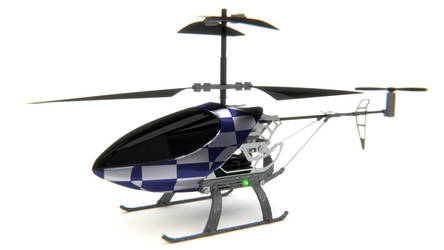 RC helicopter by thibsert