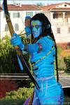 Cosplay Avatar Neytiri by FrancescaNekoryu
