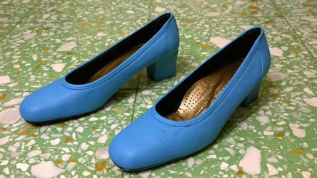 Cosplay accessory: Aurora's shoes Sleepeng beauty by FrancescaNekoryu