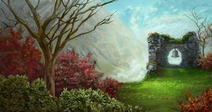 Landscape Study by Kaeriya