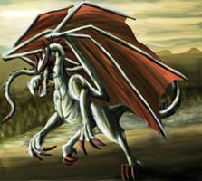 Speedpaint: Dragon by FleetingEmber