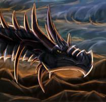 Dragon Speedy by FleetingEmber