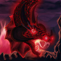 Fire Dragon Original by FleetingEmber
