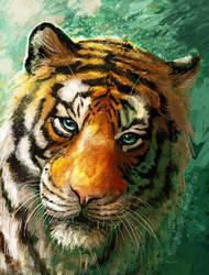 Tiger Eyes by FleetingEmber