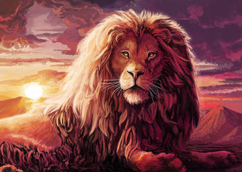 Leo Lion by FleetingEmber