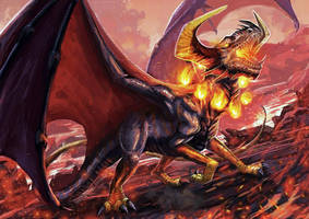Dragon - Lord of Fire by FleetingEmber