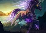 Night Horse by FleetingEmber