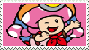Not-So-3D Toadette Stamp by KimberlyTheHedgie