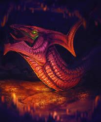The Bellowing Dragon by ApeironDiesirae