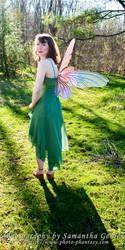 Springtime Fairy by Saknika