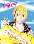 Takeru as a gift by michikurai