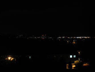 Home Deck View To The City by DragonKnightVQ