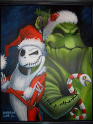 The Nightmare Before Christmas by omgitsyourface