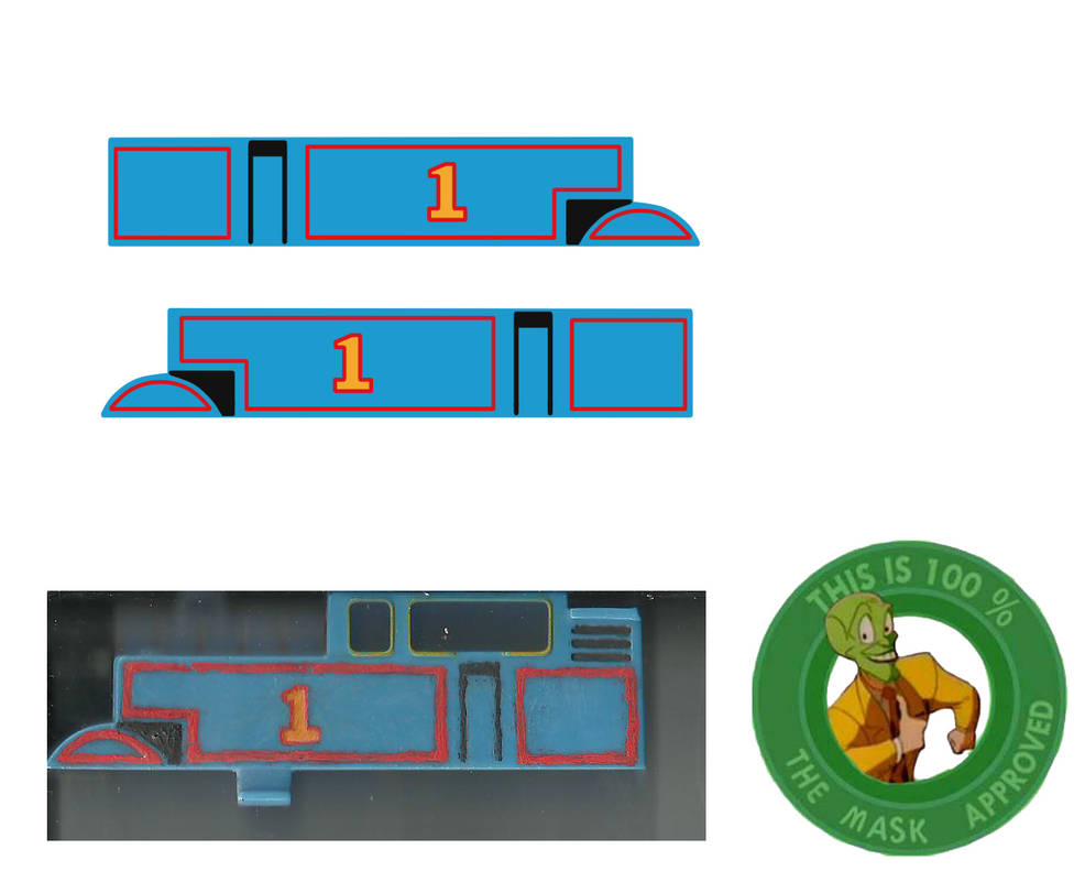 Tomy Tracmaster Thomas's Side Decals by Jules1114