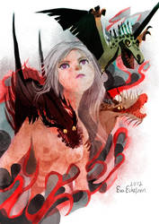 Fire and Blood by evelmiina