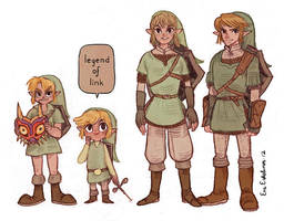 legend of link by evelmiina