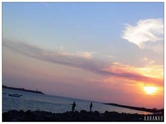 Fishing at Corinto by aarana9