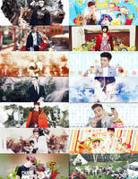[Share PSD] Super Junior - Happy 9th anniversary by junghyunhyo