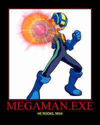 Megaman.EXE by GameTagger457