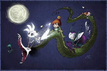 Moonlit Joy Ride by dabean