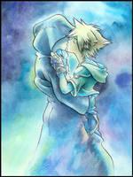 RikuxSora Kiss by dabean